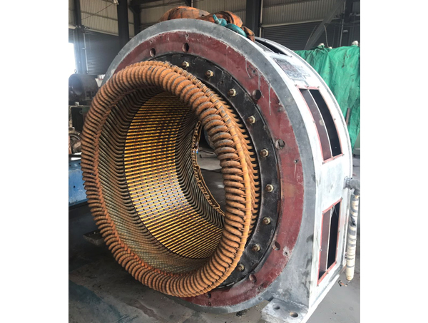 ZBQ直流隔爆牵引电动机维修现场